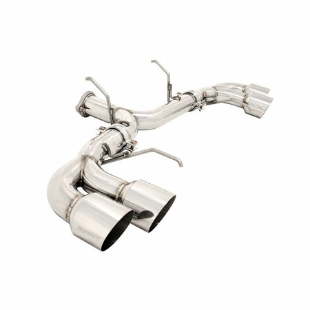 Megan Racing Axle Back Exhaust System: Nissan GTR R35 09+ Version 2