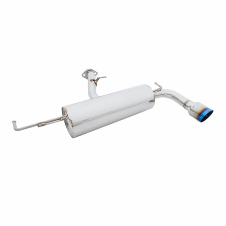 Megan Racing Axle Back Exhaust System: Scion TC 05-10 Blue Titanium Tip