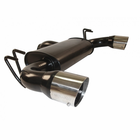 Megan Racing Black Series Cat-Back Exhaust System: Mitsubishi EVO X, 08-14