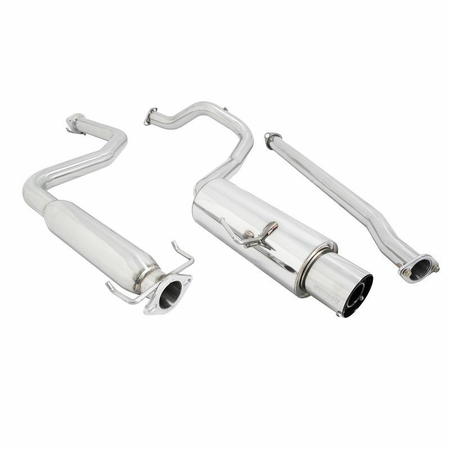 Megan Racing Drift Spec Cat-Back Exhaust System: Honda CRX 88-91 HF