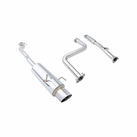 Megan Racing NA Type Cat-Back Exhaust System: Honda Accord 90-93