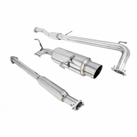 Megan Racing NA Type Cat-Back Exhaust System: Honda Accord 98-02 4cyl