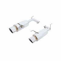 Megan Racing NA Type Cat-Back Exhaust System: Honda Accord 98-02 Coupe V6