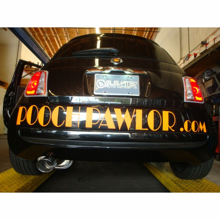 Megan Racing OE-RS Cat-Back Exhaust System: Fiat 500 2012+ Stainless Roll Tip (Do not fit Abarth or Turbo model)