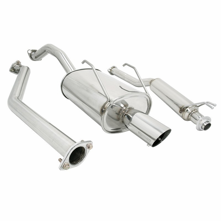 Megan Racing OE-RS Cat-Back Exhaust System: Honda Civic 01-05 4DR EX