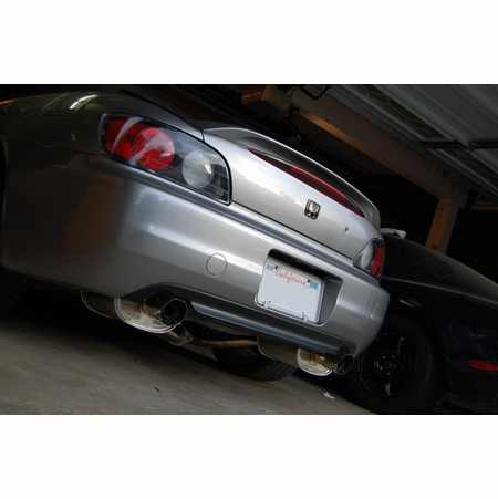 Megan Racing OE-RS Cat-Back Exhaust System: Honda S2000 AP1 00-03