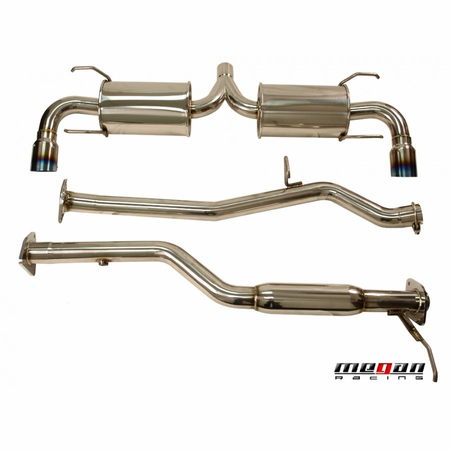 Megan Racing OE-RS Cat-Back Exhaust System: Mazda RX-8 04-08 Only