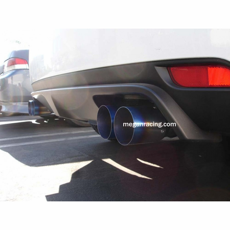 Megan Racing OE-RS Cat-Back Exhaust System: Subaru WRX STI 08-14 (5 DR Hatchback)