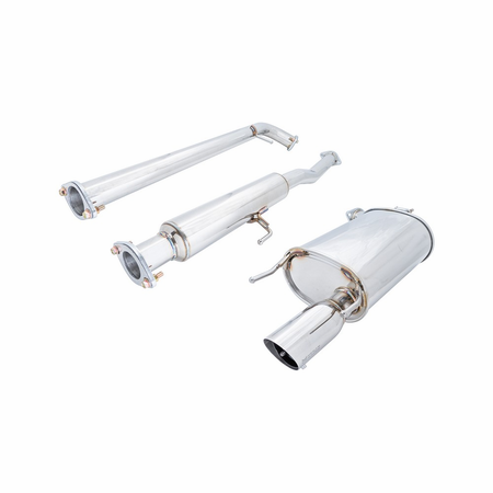 Megan Racing OE-RS Cat-Back Exhaust System: Toyota Camry 4Cyl 07-11