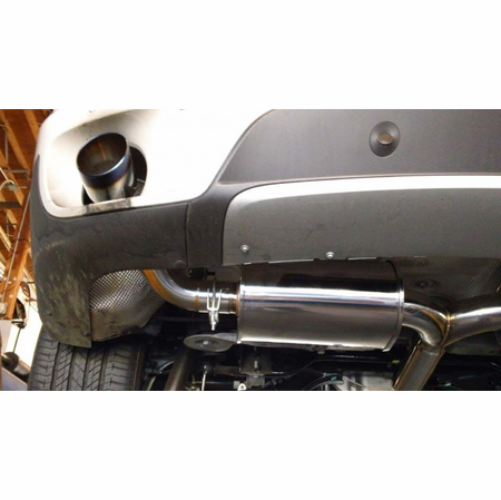Megan Racing Supremo Exhaust System: BMW E70 X5 2007-13 V6 Model Only (Exclude M Package) Burnt Rolled Tips