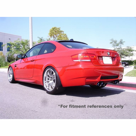 Megan Racing Supremo Exhaust System: BMW E92 M3 2008-13 Burnt Roll Tip