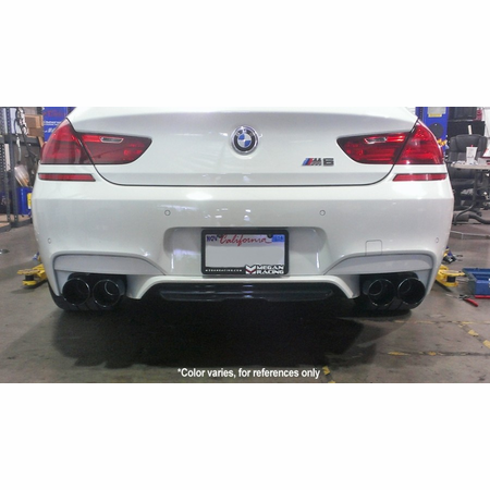 Megan Racing Supremo Exhaust System: BMW F13 M6 Coupé 2013+ Stainless Roll Tips
