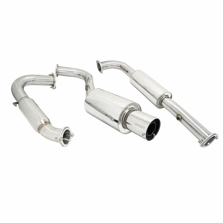 Megan Racing Turbo Type Cat-Back Exhaust System: Mitsubishi Eclipse 95-99 GST 3