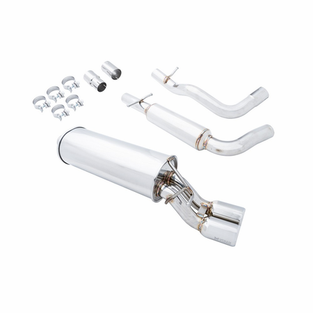 Megan Racing Turbo Type Cat-Back Exhaust System: VW Golf/Beetle 1.8T/2.0 99-02