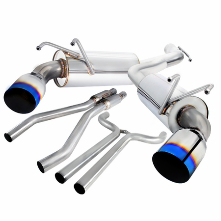 Spec-D 2010-2015 Chevy Camaro Burnt Tip Catback Exhaust System