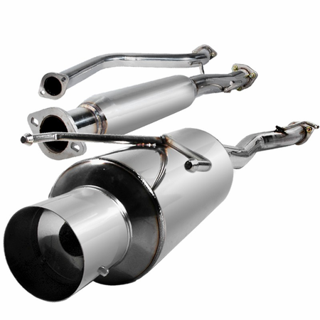 Spec-D 90-93 Honda Accord N1-Style Catback Muffler Exhaust System