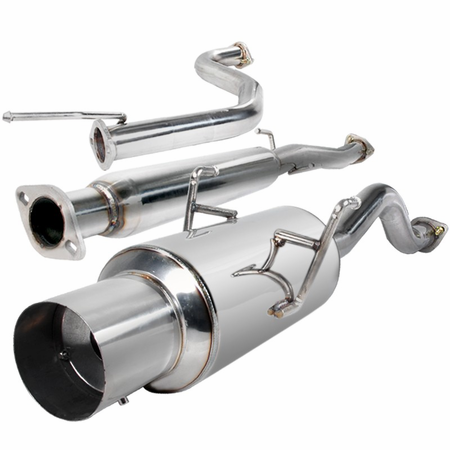 Spec-D 94-01 Acura Integra Gsr 2DR Coupe Catback N1-Style Muffler Exhaust System
