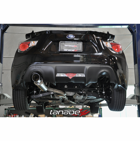 Tanabe Medalion Concept G Exhaust System 13-13 Subaru BRZ
