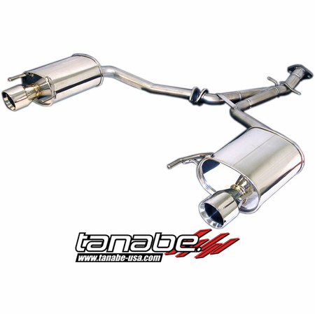Tanabe Medalion Touring Exhaust System 06-11 Lexus IS250 2WD / AWD