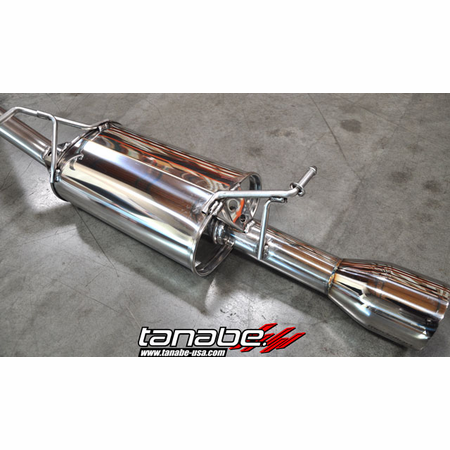 Tanabe Medalion Touring Exhaust System 10-13 Toyota Prius
