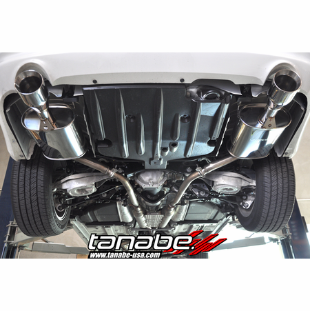 Tanabe Medalion Touring Exhaust System 11-13 Infiniti G25x Sedan