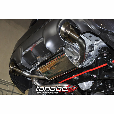 Tanabe Medalion Touring Exhaust System 13-13 Subaru BRZ