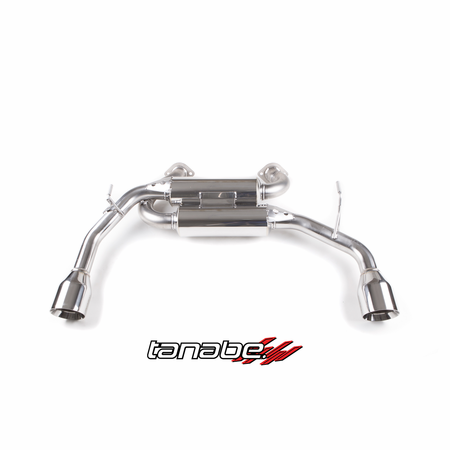 Tanabe Medalion Touring Exhaust System 14-14 Infiniti Q50 2WD