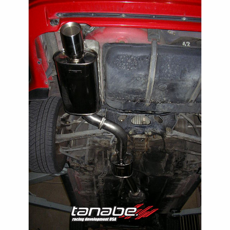 Tanabe Medalion Touring Exhaust System 87-92 Toyota Supra