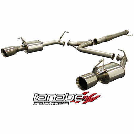 Tanabe Medalion Touring Exhaust System 90-99 Mitsubishi 3000GT VR4