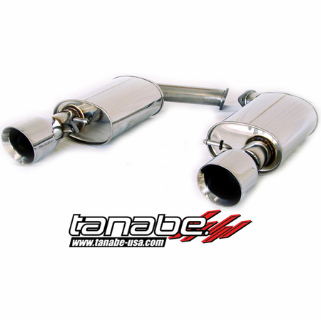 Tanabe Medalion Touring Exhaust System 92-00 Lexus SC300 / 400