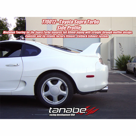 Tanabe Medalion Touring Exhaust System 93-98 Toyota Supra