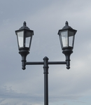 Double Lantern Style Municipal Quality Street Light Package