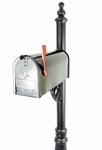 MB500 Metal Mailbox (Black) - #1 Mailbox in Atlanta
