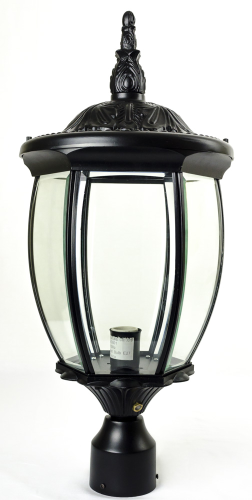 Residential Grade Courtyard Outdoor Post Light Package