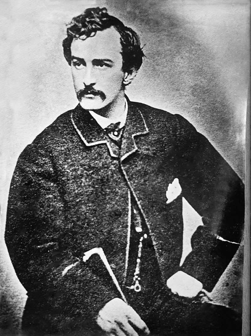 john wilkes booth (the assassination of president abraham lincoln by actor john wilkes booth, at  ford's theatre, in washington dc, on april 14, 1865 lincoln.