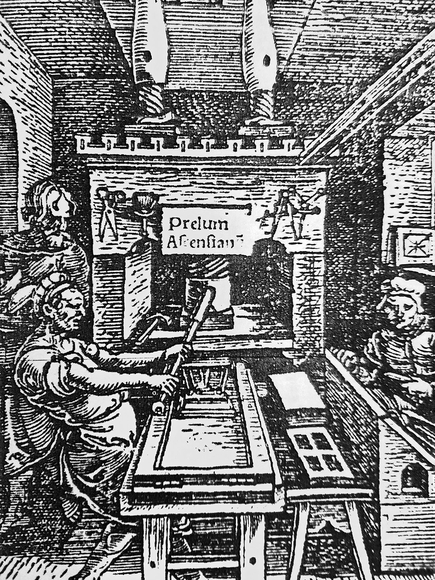 Printing Press and the Gutenberg Bible