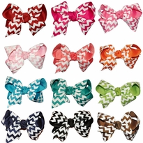 Chevron Hair Bow Pack