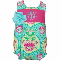 Monogrammed Bubble Suits