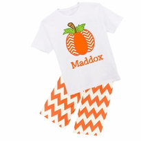Personalized Pumpkin Graphic Tee/Pant Set PRE-ORDER