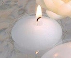 "1 3/4"" White Candle Floats Floating Candles, Set of 30"