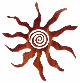 "18"" Sun Spirit Metal Wall Art by Robert Shields"