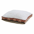 """23"""" Contempo Crushed Sand Chino Birch Boxed Pet Bed"""