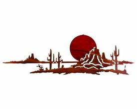 "24"" Arizona Sunset Metal Wall Art by Neil Rose"