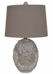 "24"" Calypso Shell Table Lamp"