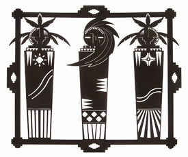 "24"" Spirit Shaman Metal Wall Art by Kevin Fletcher"