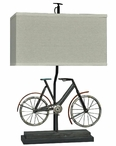 "26"" Biking Table Lamp"