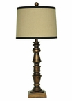 "27"" Village Post Table Lamp"