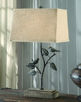 "28"" Park Side Birds Table Lamp"