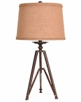 "28"" Tripod Table Lamp"