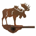 "29"" Moose Metal Towel Bar"